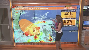 Tropical disturbance expected to bring heavy rain to Mexico | 10Weather
