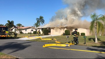 Family dog dies in Sarasota County house fire