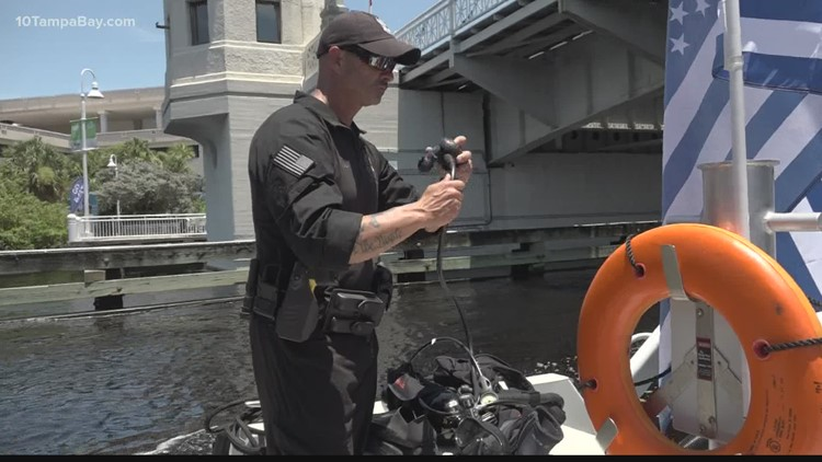 Tampa dive team 'ready' if Stanley Cup drops in water