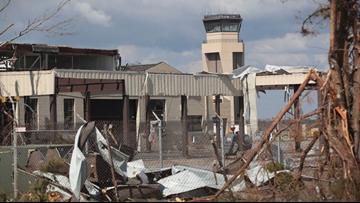 Tornado hits Florida's Tyndall Air Force Base months after Hurricane Michael