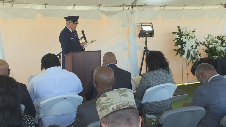 MacDill Air Force Base ceremony honors destroyed Black cemetery on property