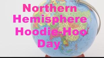 Northern Hemisphere Hoodie-Hoo Day is a thing