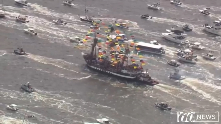 UPDATE: No charges for man who woman claimed pulled down her blouse at Gasparilla