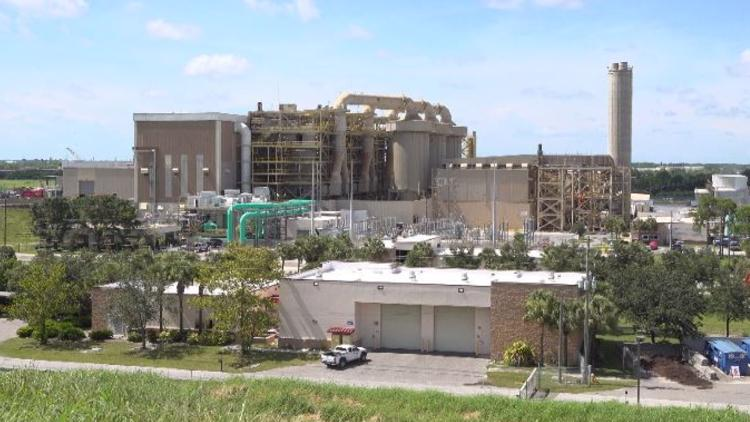 This is the building turning tons of dead red tide marine life into energy