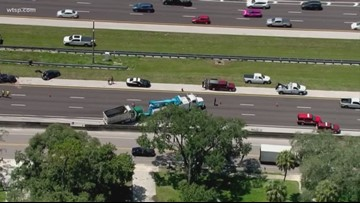 Westbound I-4 sees major delays in Plant City due to multi-vehicle crash