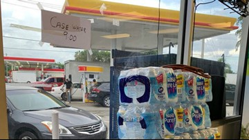 AG: Gas station hiked water case price to $9 again after state said to stop price gouging