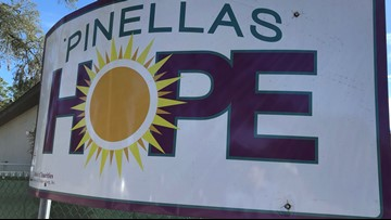 Unexpected donations keep Pinellas Hope shelter thriving