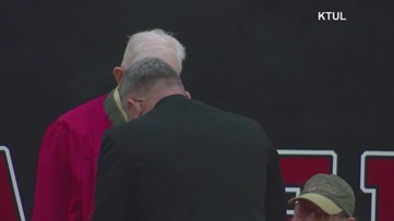 95-year-old veteran earns high school diploma