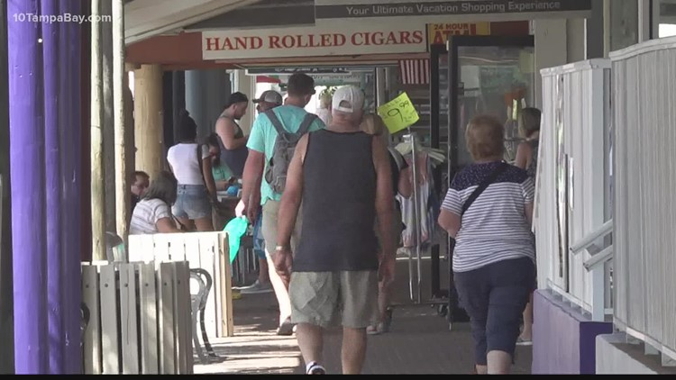 As red tide returns, local businesses worry about slowdown of customers