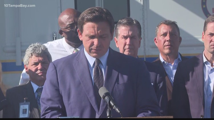 Gov. Ron DeSantis orders permanent closure of  former Piney Point phosphate processing plant