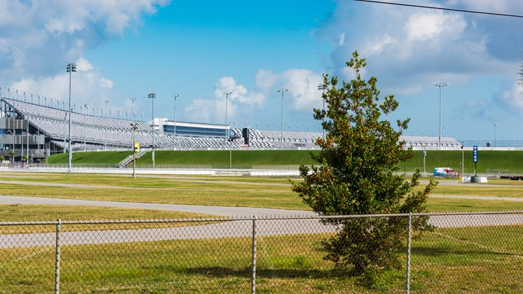 For $50, you can drive your own car on the famous Daytona International Speedway