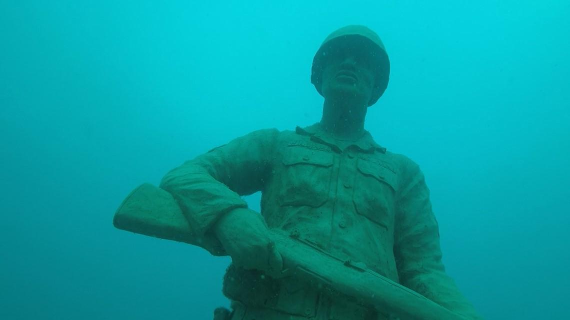 Circle of Heroes underwater memorial honors military veterans | wtsp com