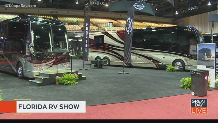Check out your dream home on wheels this weekend