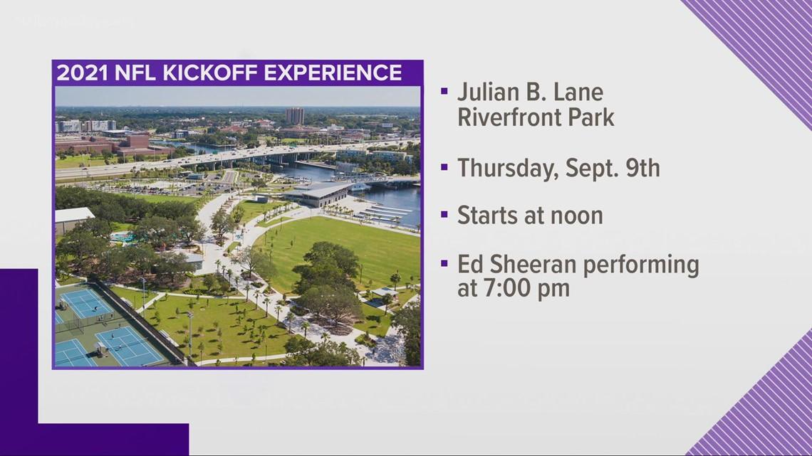 NFL Kickoff set for Sept. 9 at Julian B. Lane Park