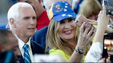 Vice President Pence tours Navy hospital ship heading to Latin America