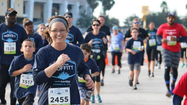 Miles for Moffitt will be back in-person this November: How to sign up