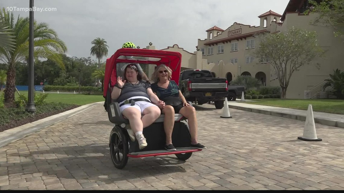 Simple bike ride offers joy to special needs riders