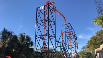 Busch Gardens almost ready to launch newest roller coaster, Tigris
