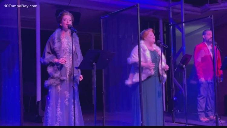 St. Pete theater puts on a socially distant 'A Christmas Carol'