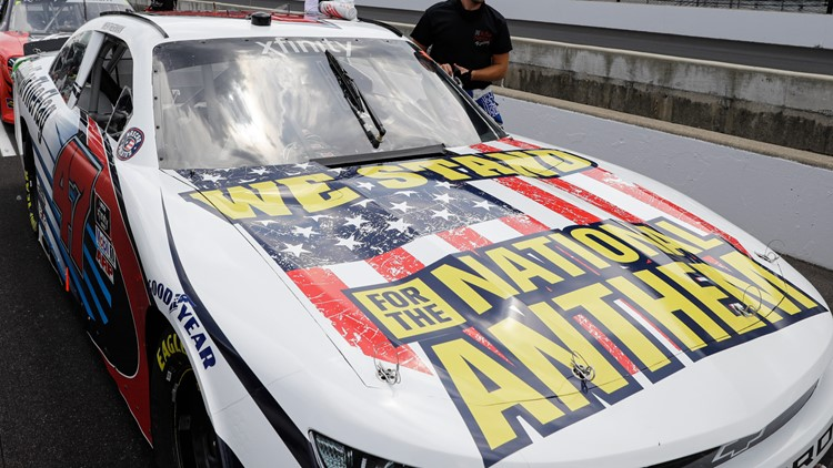 'National Anthem' NASCAR car stolen in Georgia, could be in Florida