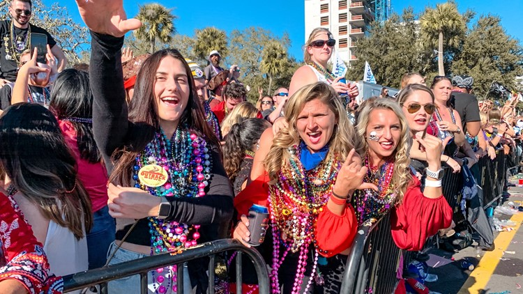 Tampa Bay area's Gasparilla parades canceled amid ongoing pandemic