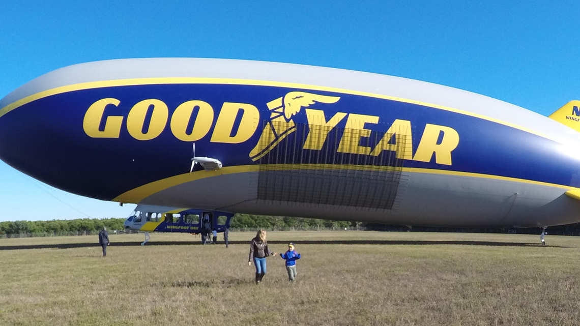 For just $150 a night, you can stay in the Goodyear Blimp