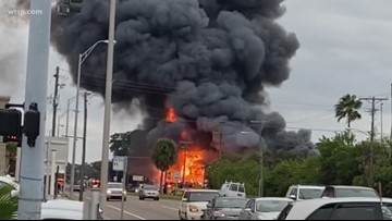 'It's like losing a piece of Ruskin': Locals react to furniture store fire