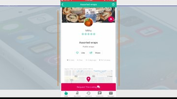 Food-sharing app Olio can help those in need