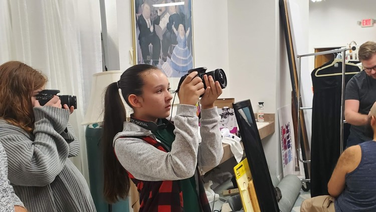 Students use cameras to show how they view the world