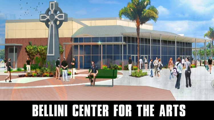 Tampa Catholic High School Bellini Center for the Arts Rendering