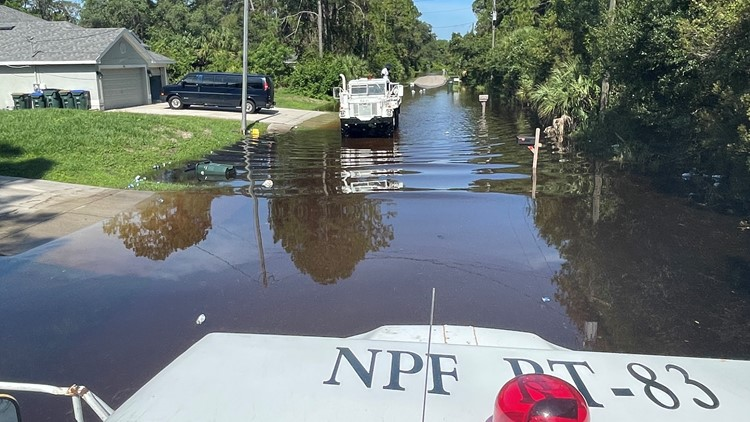 Flooding ongoing in North Port but is less of a concern
