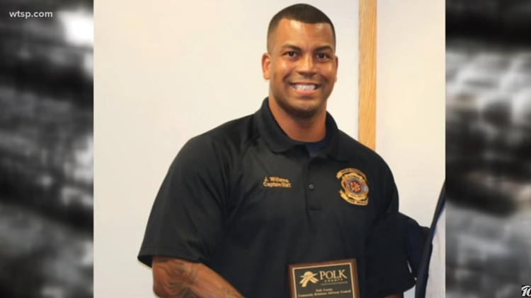 Polk County Fire Captain James Williams