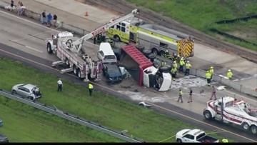 One person dead, infant in critical condition after I-75