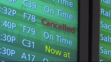 Check your flight: Weather causes delays, cancellations at Tampa airport