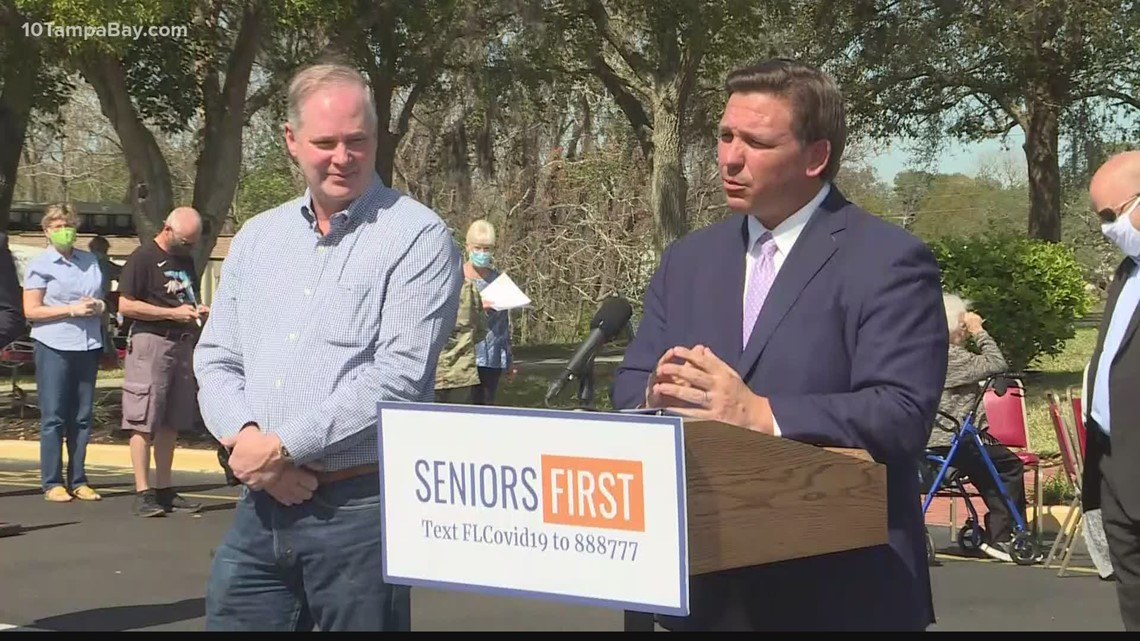 Gov. DeSantis continues to face criticism for pop-up vaccine site locations