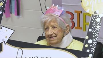 Florida woman celebrates 100th birthday in style
