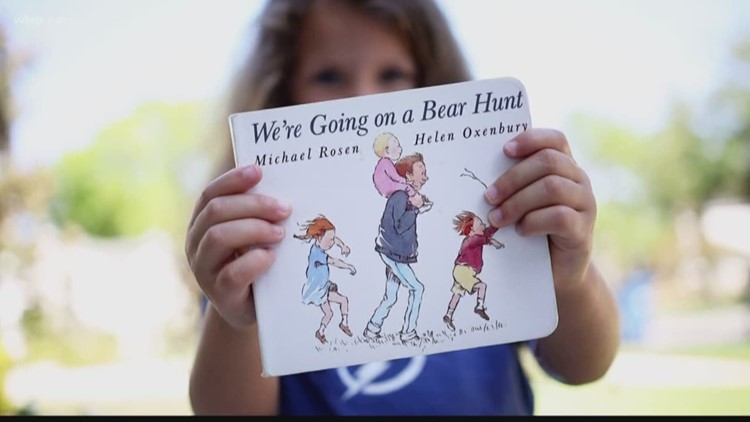 Families encourage kids to go on 'bear hunts' outside while social distancing