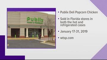 Publix recalls popcorn chicken