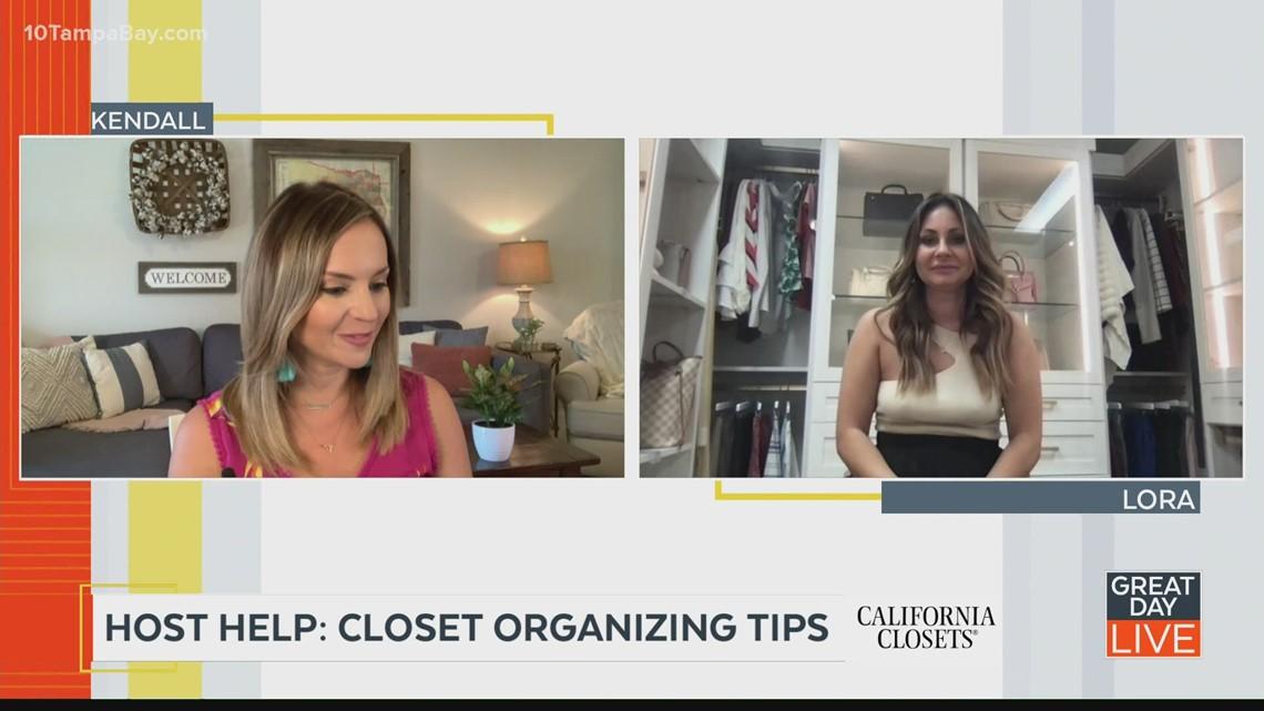 Host Help: Easy closet organizing tips