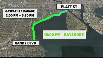 All you need to know about parking, traffic for Gasparilla