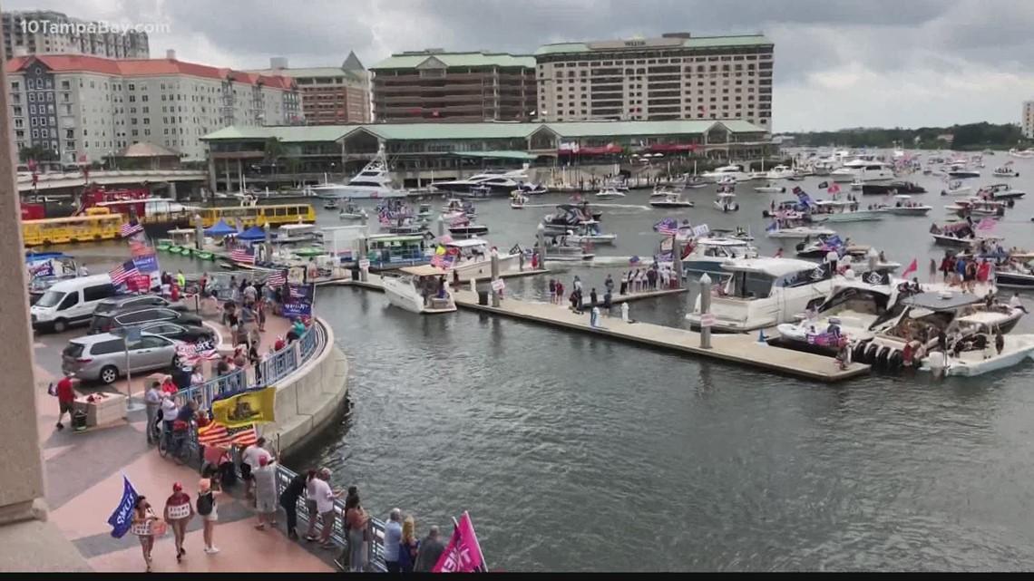 Boaters set sail for 'Trumparilla,' unofficial Gasparilla parades amid postponement