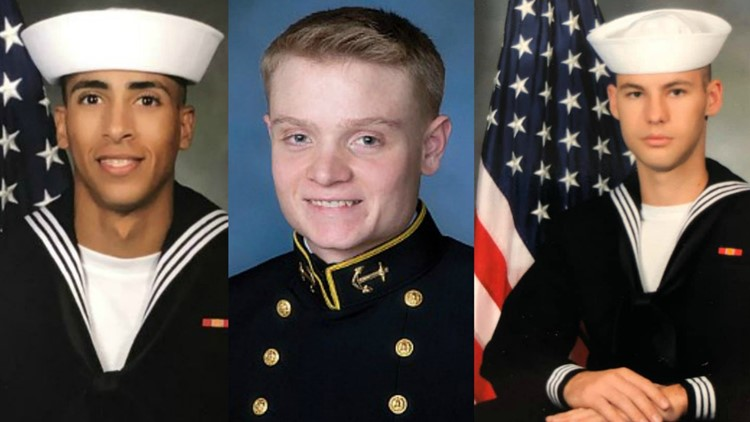 3 sailors in NAS Pensacola Shooting