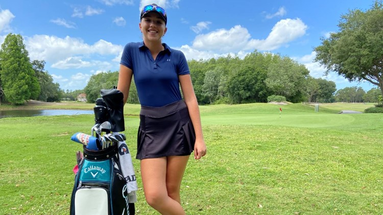 Palm Harbor teen graduates high school early in order to pursue pro golf dream