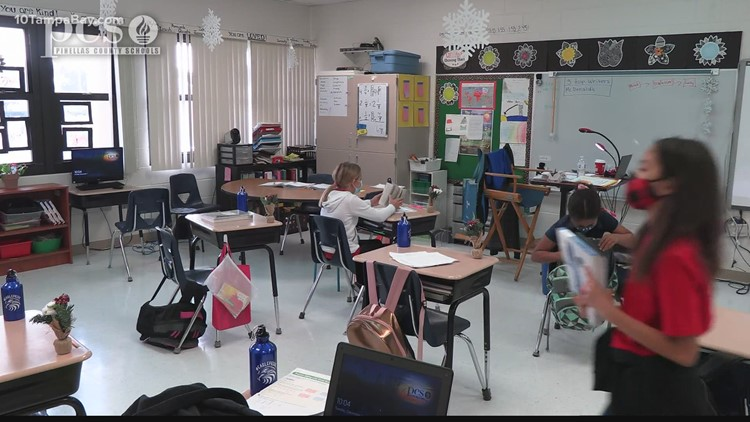 Tampa Bay 5th grader helps her entire school get water bottles