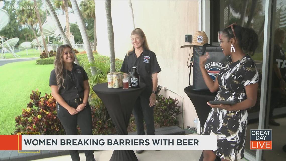 Women breaking barriers with beer