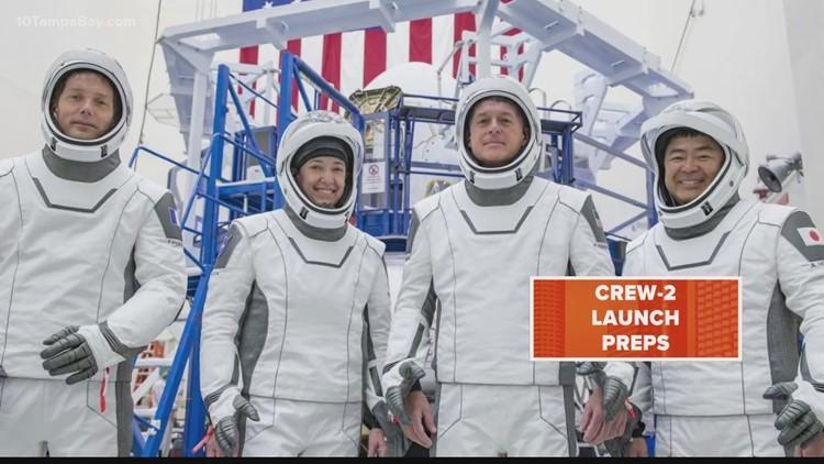 NASA, SpaceX prepare for Crew-2 mission