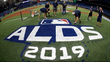 Tampa Bay Rays host Houston Astros Monday for ALDS Game 3