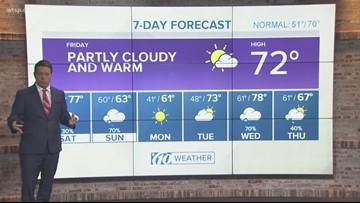 Weather Forecast 12:30 p.m. Friday