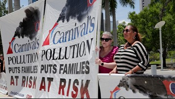 Carnival will pay $20 million over pollution from its cruise ships