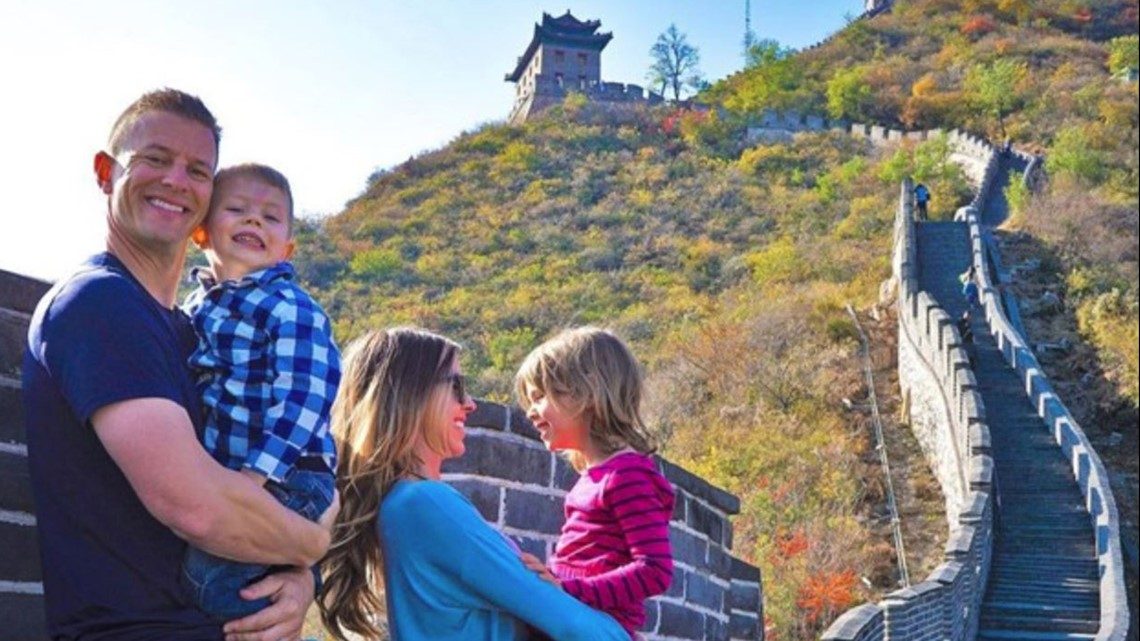 Tampa family of four travels the world